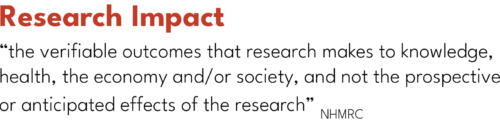 Research Impact definition